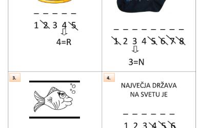 Rebus – Neja Jančič, 4. a